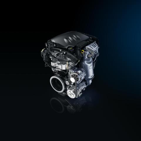 Peugeots nya bensinmotorfamilj - PureTech - med snåla och vridstarka motorer. Trecylindriga 1,2-liters motorer med Stop&Start med och utan turboladdning.