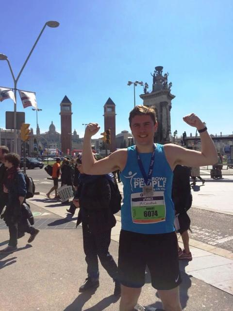 City Professional takes on fifth marathon to raise cash for sick children's charity