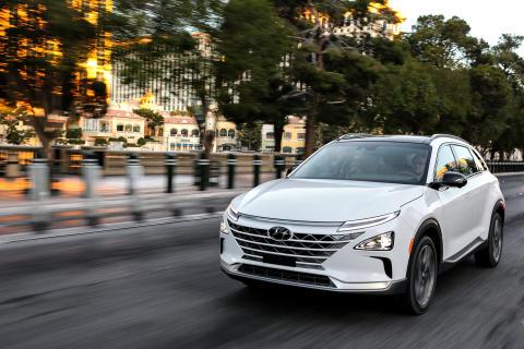 Helt nya Hyundai NEXO belönas med 5 stjärnor i Euro NCAP