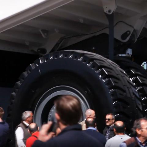bauma - Reifen Baumaschine