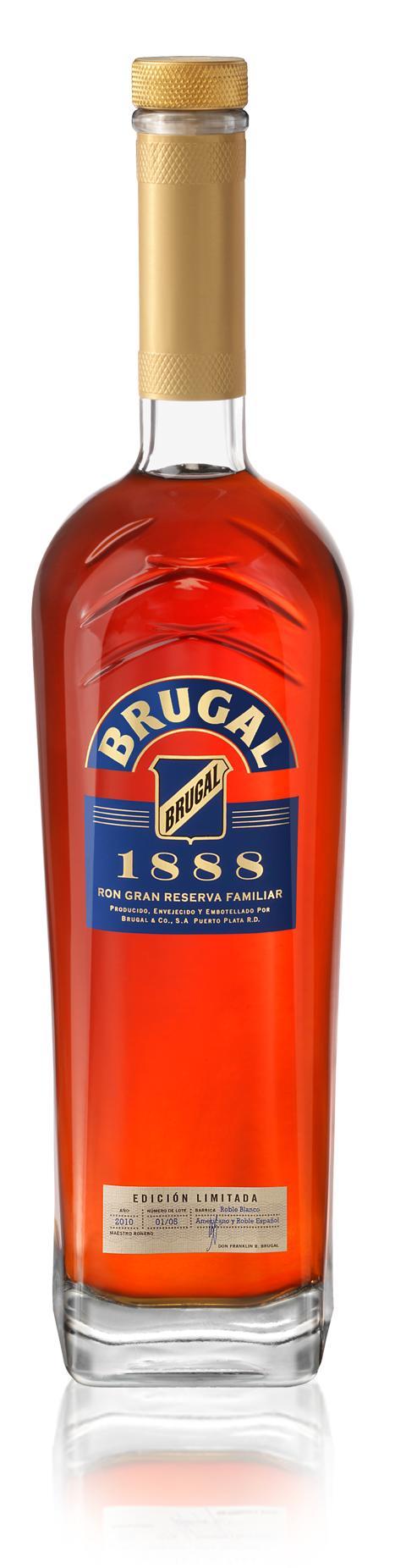Packshot Brugal 1888