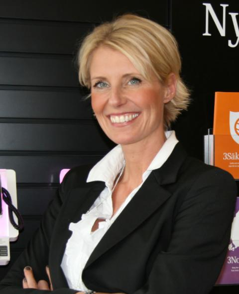 Susanne de Boer ny försäljningsdirektör på 3
