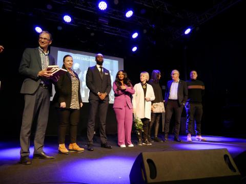 Pristagare och jury Anders Carlbergs pris 2019