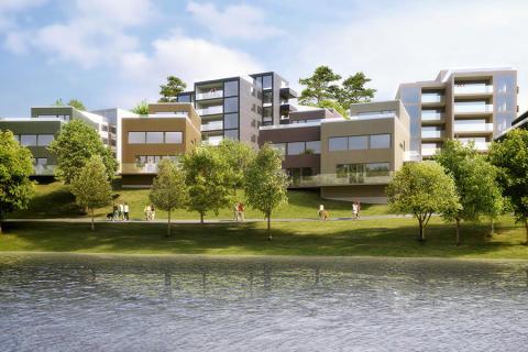 HSB köper mark i centrala Strängnäs för att bygga 80 bostäder