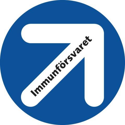Symbol för antibiotikakampanj i Västerbotten
