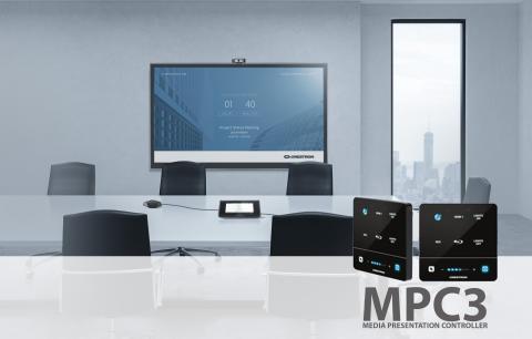 Crestrons nya kontrollpanel med inbyggd processor - MPC3-201