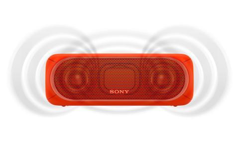 SRS-XB30 von Sony_rot_1