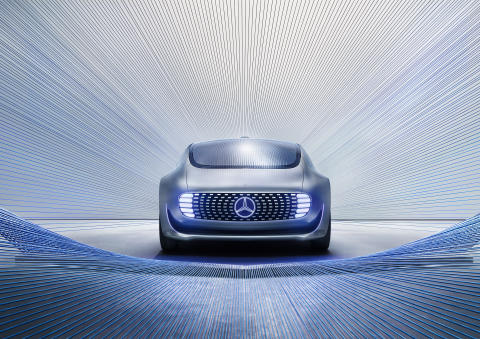 Mercedes-Benz vision of autonomous driving