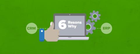 6 anledningar varför du ska integrera SuperOffice CRM med ditt ERP-system