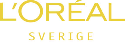L'Oréal Sverige Logo gold