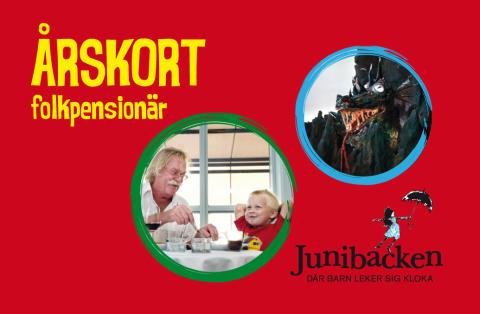 Nytt årskort bara för pensionärer - ta med barnbarnen till Junibacken!