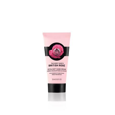 British Rose Petal-Soft Hand Cream