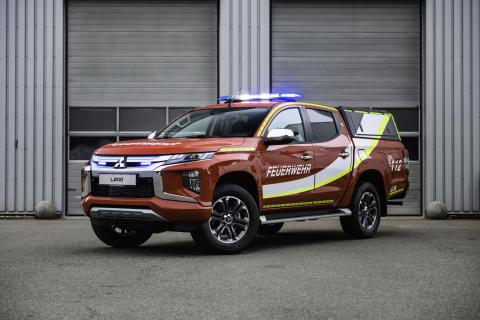 Der neue L200 mit Feuerwehr-Umbau