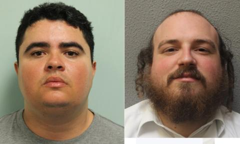 Two men convicted of falsely accusing two teenagers of robbery in Hackney