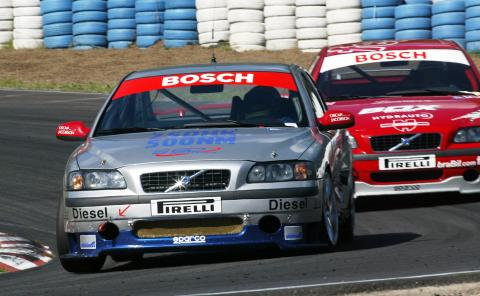 Volvos diesel racer utvecklade ett vridmoment på 500 Nm.