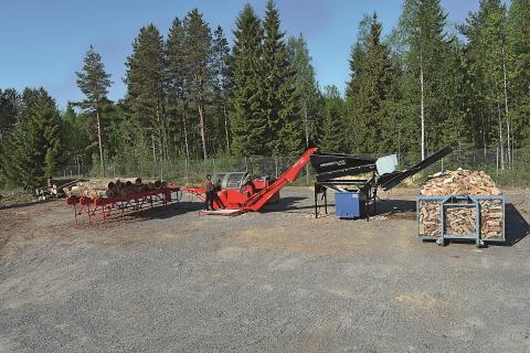 Hakki Pilke 50 PRO – Den Optimala Vedfabriken!
