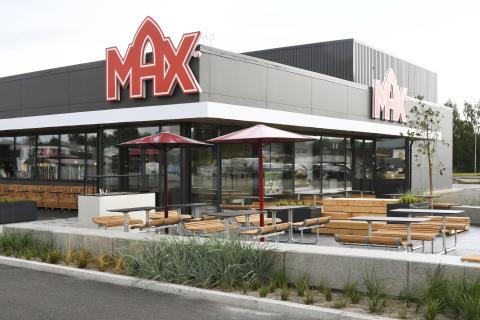 Trafiknära läge när Max öppnar nytt