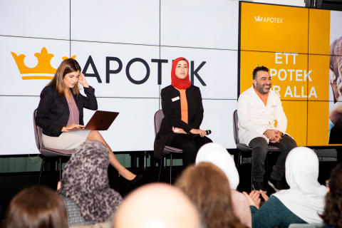 Kronans Apotek lanserar Coronamaterial på arabiska