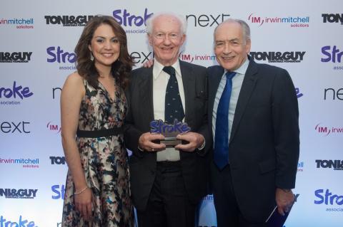 Septuagenarian stroke survivor wins national carer award