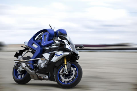 Yamaha Motor's Joint Motobot Development with SRI