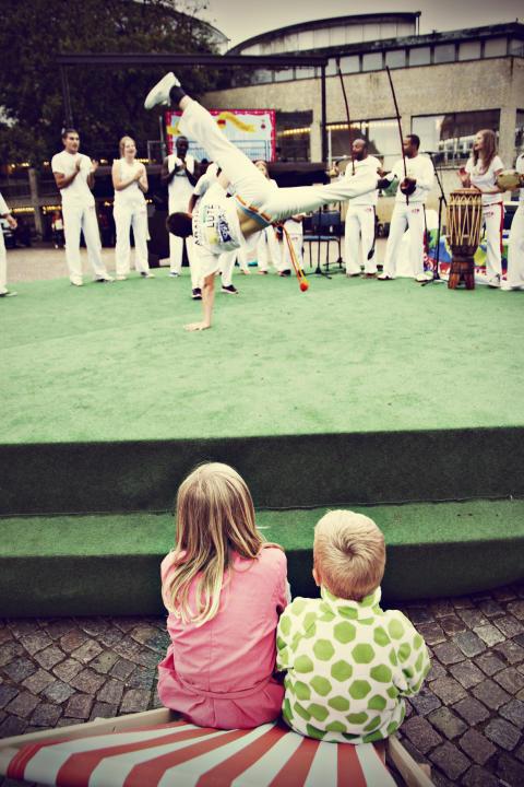 Sommarlund: Invigning på Stortorget