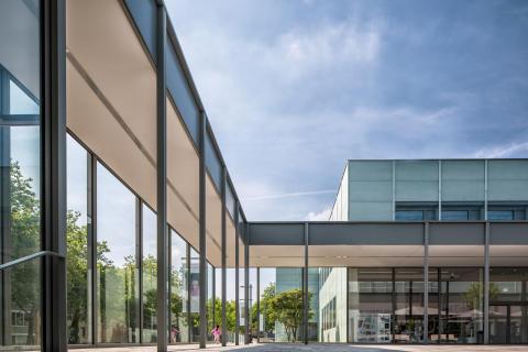 SpielstätteMuseumFolkwang_Neubau Eingang_c_MuseumFolkwang2017_GiogioPastore