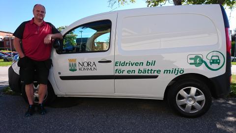 Nu satsar Nora kommun på elbilar!