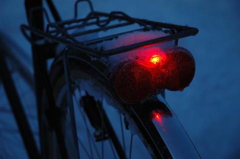 Allt fler cyklister syns i mörkret