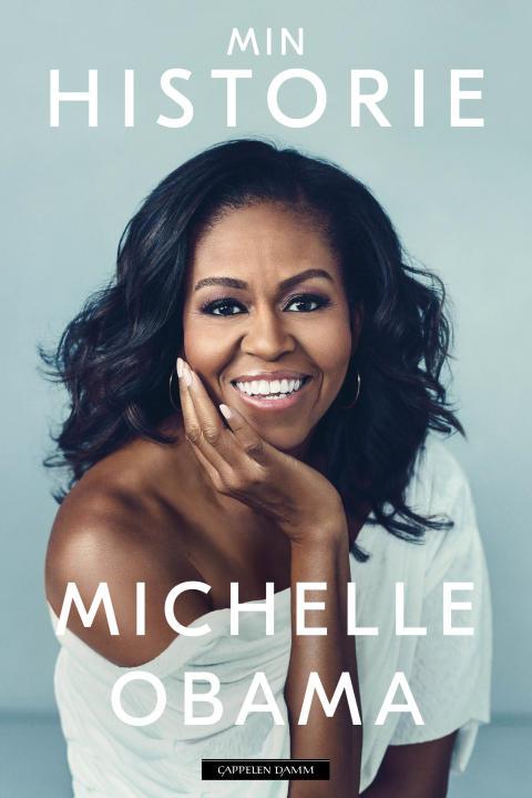 Michelle Obama avslører omslaget på memoarboken Min historie