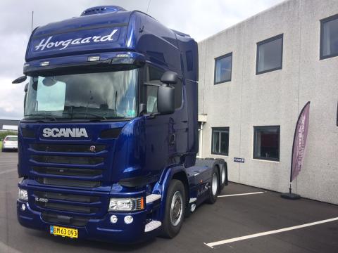 Væsentlig forbedring i brændstoføkonomien hos vognmand Per Hovgaard