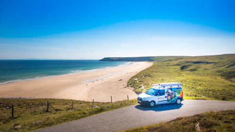 Openreach tests boost fibre broadband speeds over long lines in the Hebrides