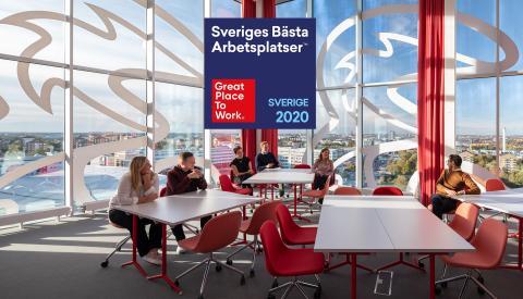 Vi är en av Sveriges bästa arbetsplatser. Igen!