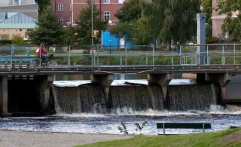 Reparation av Slussenbron