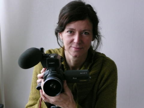 Dokumentärfilmaren Lotta Ekelund. Foto: Martina Ivérus