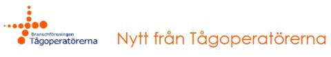 Nyhetsbrev nr 1 2014 från Tågoperatörerna