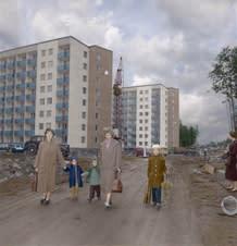 Panelsamtal om det framtida byggandet i Uddevalla