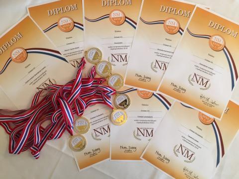 NM i Kjøttprodukter 2016, 8 gullmedaljer