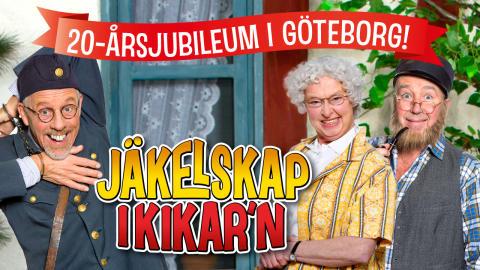 """""""Jäkelskap i Kikar ́n"""" tar farväl av Dag-Otto på Lisebergsteatern våren 2017!"""