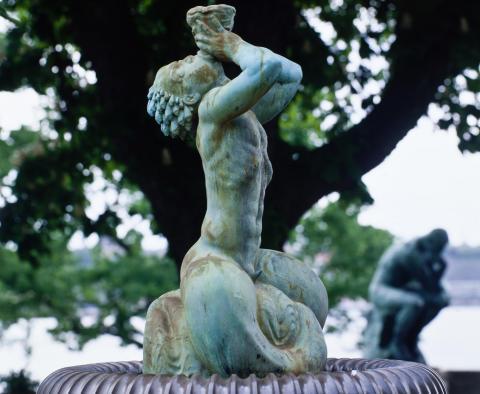 Med tyngd och lätthet - Skulpturvandring i slott och park