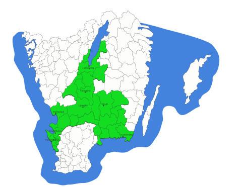 Nu kopplas fibernäten i södra Sverige ihop