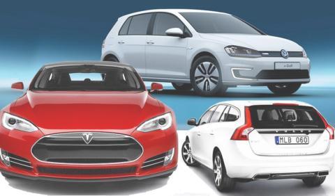 Gröna Bilister: 35 bilmodeller gör upp om titeln Miljöbästa Bil 2016