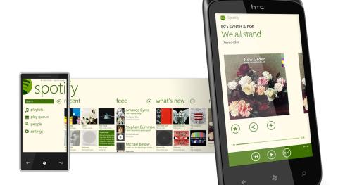 Spotify för WP7.5 i perspektiv