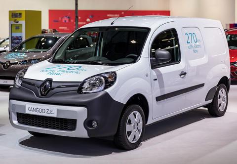 Renault Kangoo ZE - 270 km NEDC