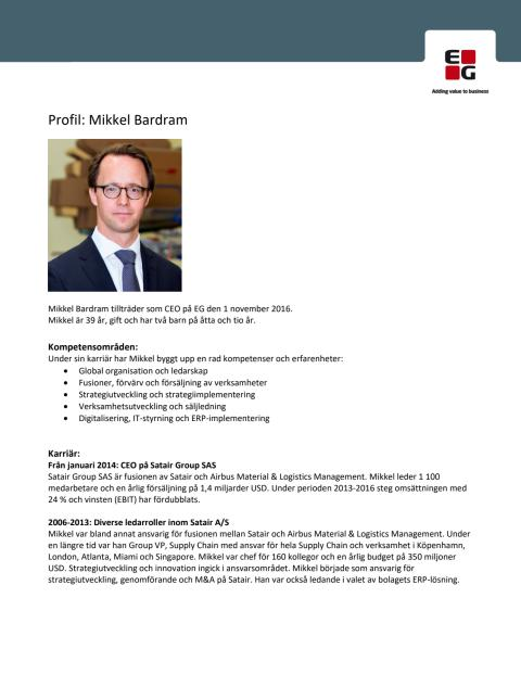 Profil Mikkel Bardram