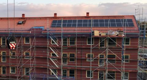 Solceller ingår nu i vår standard