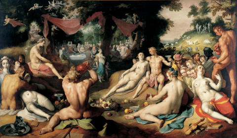 The wedding of Peleus and Thetis (1593)