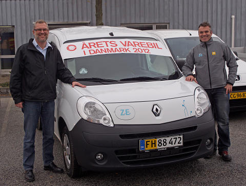 Renault Kangoo Z.E. Årets Varebil 2012