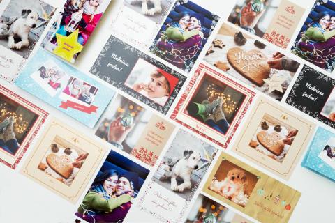 Joulukorttikollaasi