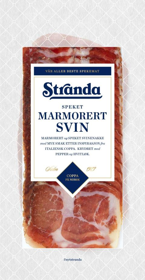 Stranda Marmorert svin