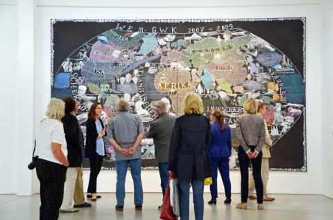 Die G2 Kunsthalle Leipzig beteiligt sich an der Museumsnacht Halle und Leipzig am 5. Mai 2018